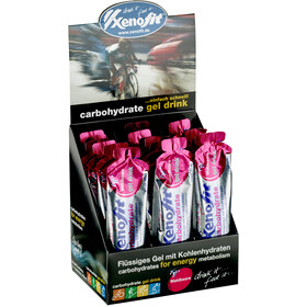 Xenofit Koolhydraat Hydro Gel Box 21x60ml, Wild Berry
